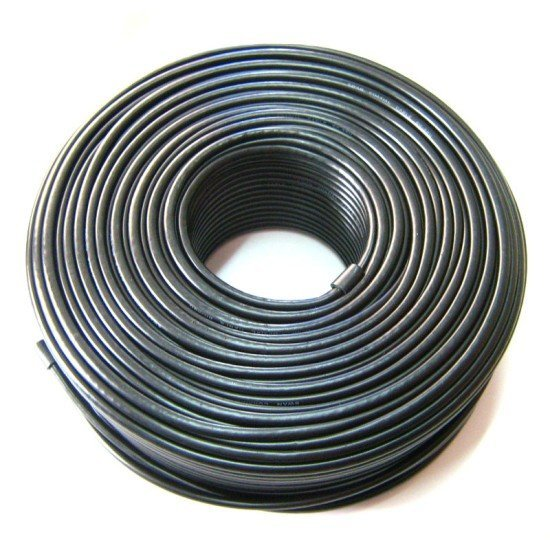 Coaxial RG6 cable 100ft Roll - Available in Black or White-230