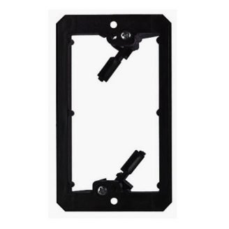 1 Gang Low Voltage Wall Plate Mounting Bracket - Arlington LV1