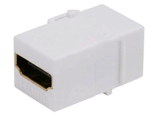 HDMI Keystone Insert Jack (White)