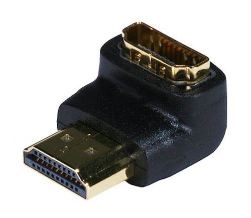 HDMI 90 Degree Right Angle Adapter-0