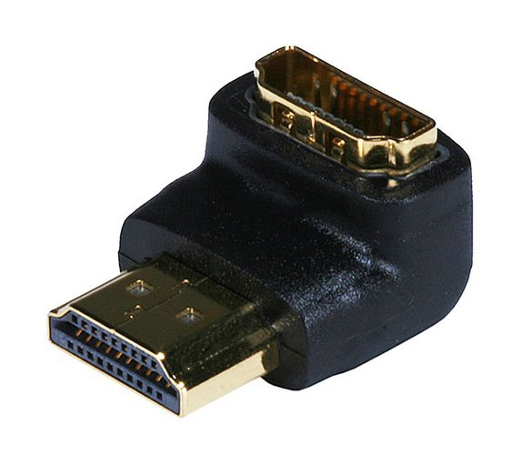 HDMI 90 Degree Right Angle Adapter-0