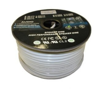Speaker Wire 250ft - 14AWG 2 Conductors CL2/FT4 in-wall rated-0
