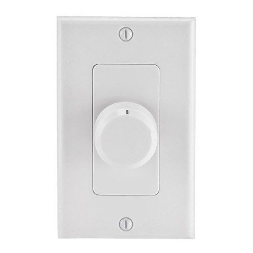 Rotary Type Speaker Volume Control Wall Plate 100 Watts RMS-0