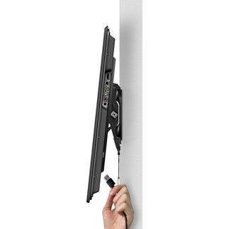 "Sanus VLT5-B3 Tilting Wall Mount for 51"" ~ 80"" TVs & max weight up to 125lbs. Max VESA 675x410-646"