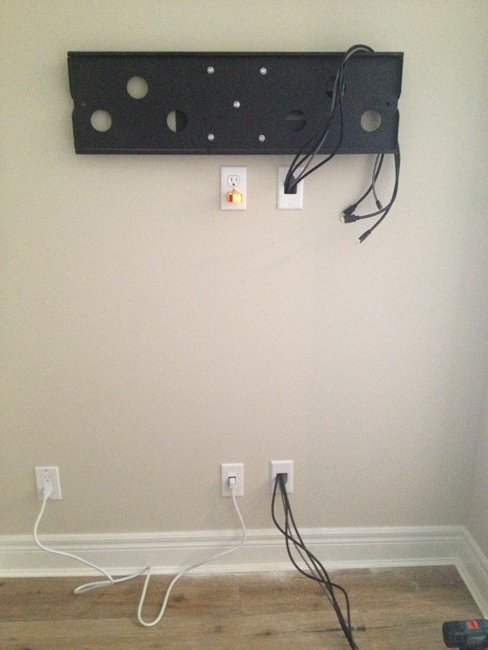 Bridge Style Power Kit - Outlet & Inlet with Power Cord-635