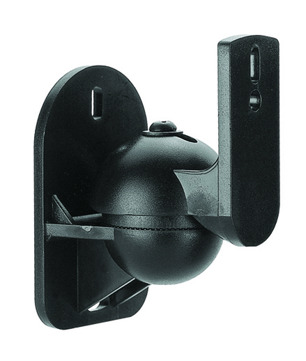Speaker Wall Mount Brackets (1 Pair) Supports up to 7.7lbs - Tilt & Swivel-817