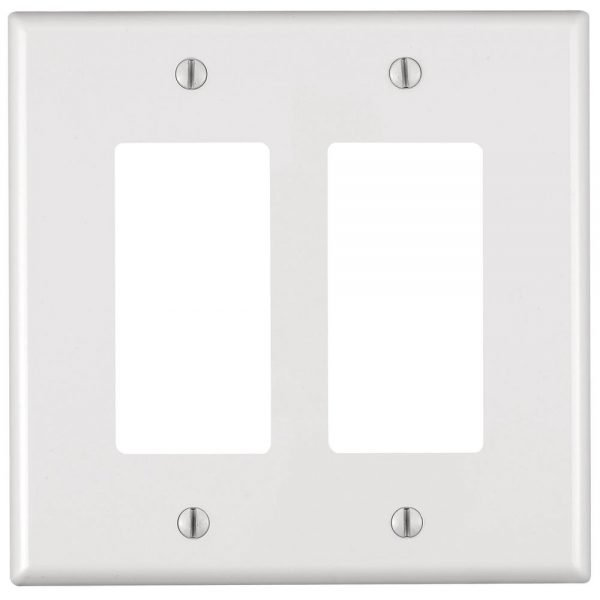 Decora Wall Plate (2 Gang)