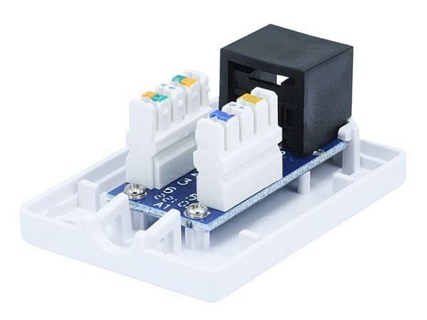 Surface Mount Box for Cat5e - Single Connection