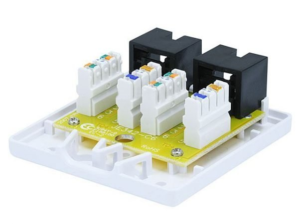 Surface Mount Box for Cat6 - Double Connection