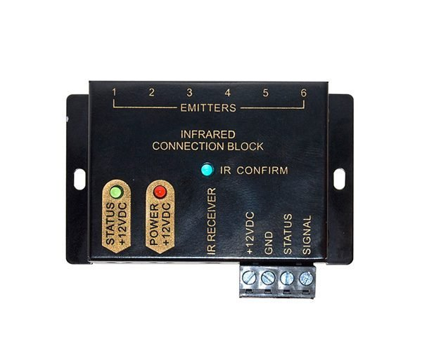 Modular Type Infrared IR Repeater Distribution Block with Power Supply