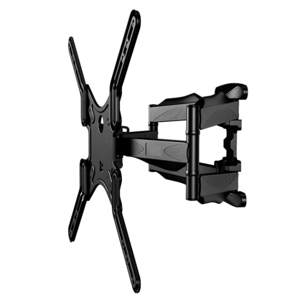 "Slim Low-Profile Full-Motion Wall Mount fits most 23"" ~ 55"" TV & max weight up to 80lbs. Max VESA 400x400"