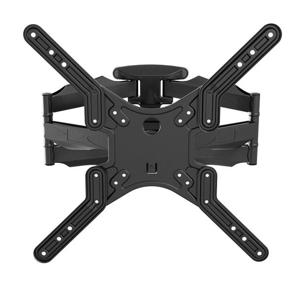 "Low-Profile Full-Motion Wall Mount fits most 23"" ~ 55"" TV & max weight up to 80lbs. Max VESA 400x400"