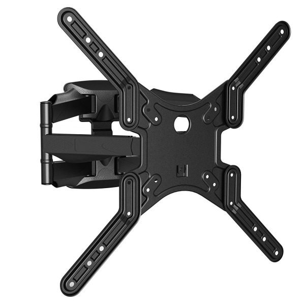 "Slim Low-Profile Articulating Wall Mount fits most 23"" ~ 55"" TV & max weight up to 80lbs. Max VESA 400x400"