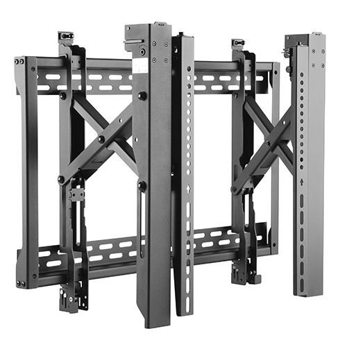 Video Wall TV Wall Mount with Pop-Out extension & Micro-Adjustment for easy access behind the TV