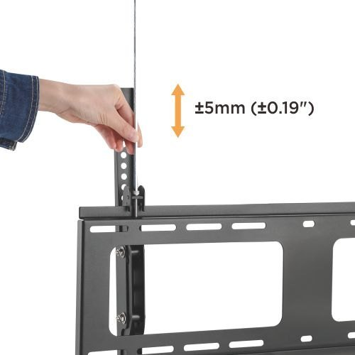 "Tilting Wall Mount Bracket with Micro-Adjustment Leveling for 40"" ~ 80"" TV & Max weight up to 176lbs Max VESA 600x400-1186"
