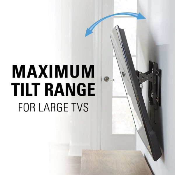 "Sanus VLT6 Advanced Tilt Premium TV Wall Mount for 46"" ~ 90"" TVs & max weight up to 150lbs. Max VESA 690x415-1203"