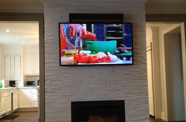 Sonos PlayBar Installed Flush to the Top of the TV