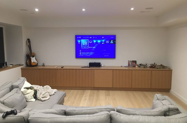 Home Theater System Custom Installation & Setup