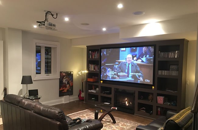 PROJECTOR INSTALLATION SERVICE FOR HOME THEATER