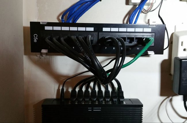 MINI PATCH PANEL INSTALLATION