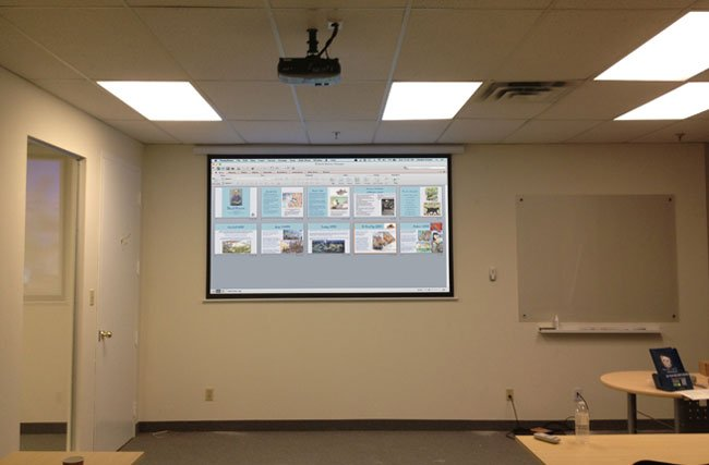 PROJECTOR INSTALLATION SERVICE FOR OFFICE