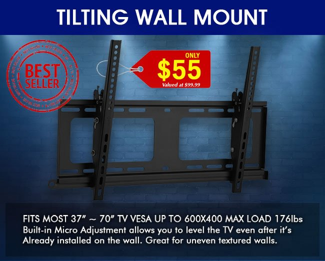 Best Selling Tilting TV Wall Mount