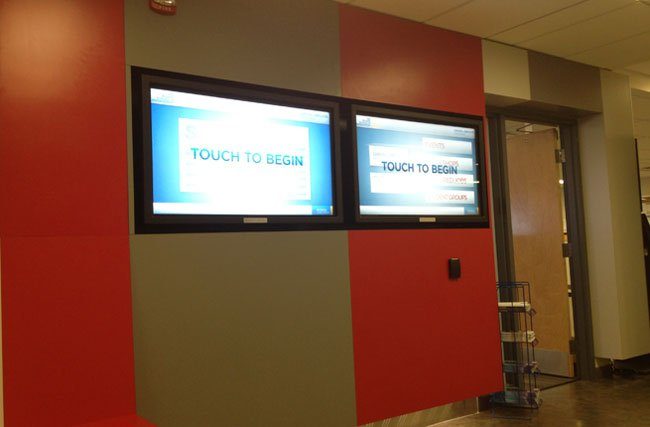 DIGITAL SIGNAGE TOUCH SCREEN INFORMATION CENTER