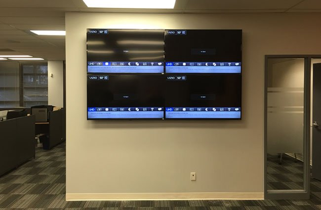 VIDEO WALL INSTALLATION SERVICE
