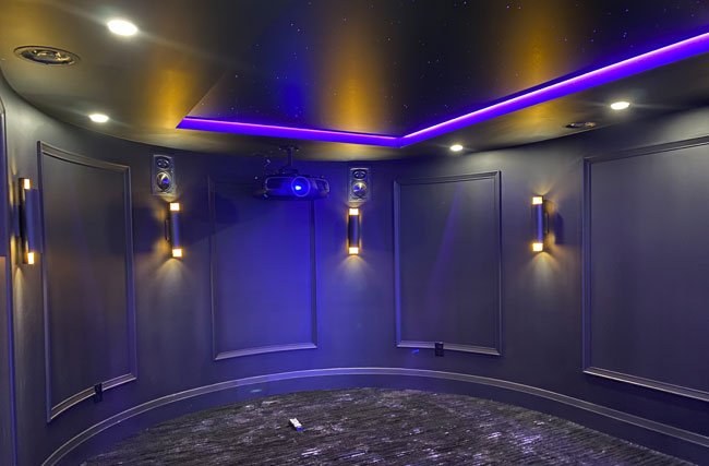 Projector Installation for Home Theater
