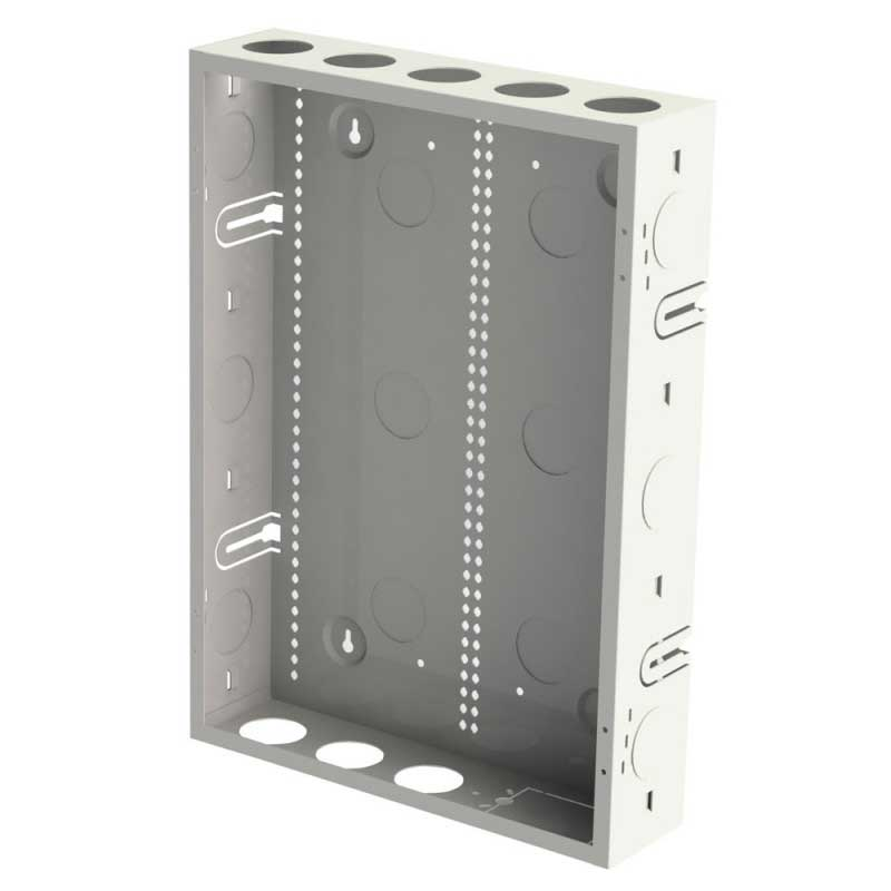 20x14 inch AV Back Box for In Wall Storage - Structured Enclosure for Media Devices