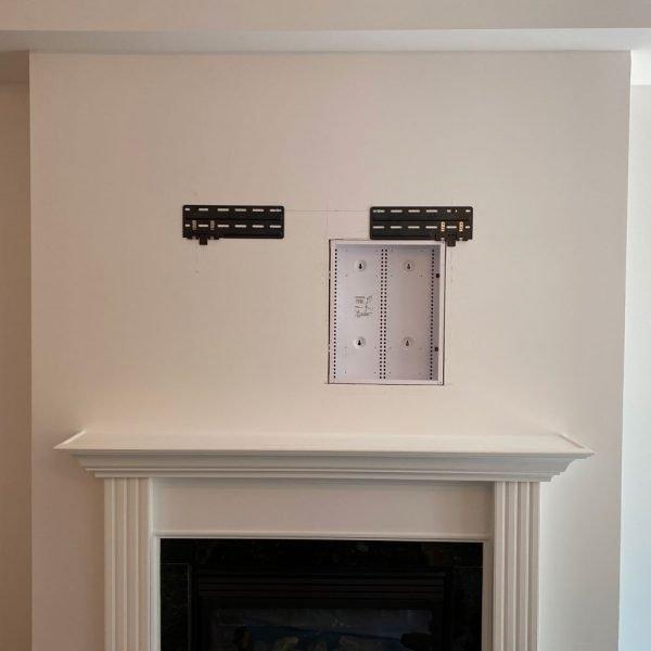 AV-back-box-18x14-with-Frame-TV-mount