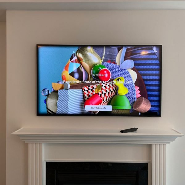 Frame-TV-with-18x14-AV-Back-box-behind-to-hide-one-connect-box