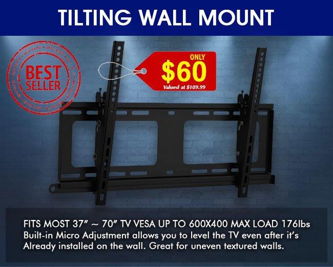 Best Selling Tilting Wall Mount