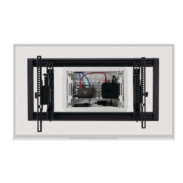 9-Inch-AV-Back-Box-with-Sanus-mount-installed-around-it