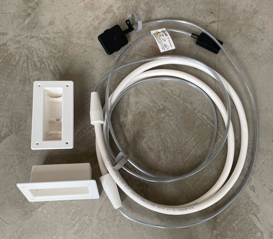 Samsung VG-SOCR86U/ZA One Connect In-Wall Certified Cable 5 meter / 16.4ft for QLED & FRAME TVs (2019) UL approval type OFNP FT6 (NEC, Article 770/UL 1651) USA and Canada